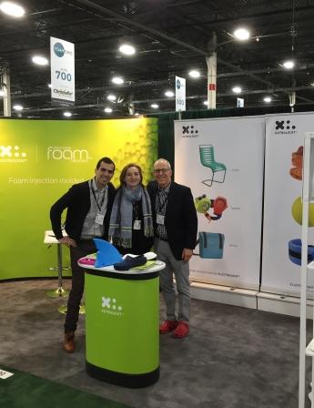 Foam Creations team at Foam Expo 2020