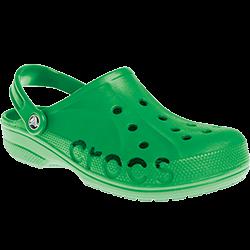 Sandale Crocs inventées et fabriquées par Créations Foam Canada par injection de mousse réticulée