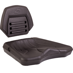 Injection molded foam Quadrax ATV seat  by Creation Foam manufacturers USA
