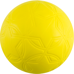 Ballon de soccer One World Futbol fabriqué par Créations Foam Canada injection de mousse EVA