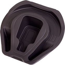 Injection molded EVA foam Otterbox head set protector by Creation Foam manufacturers USA