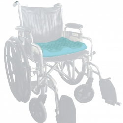 Wheelchair biocompatible Home Medical Equipment (HME) seat Cushion pillow XL EXTRALIGHT Foam