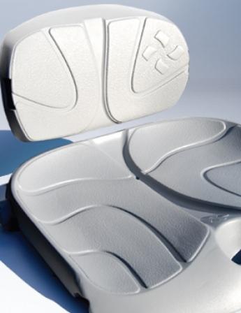 Foam Injection molding EVA kayak seat-Foam Creations