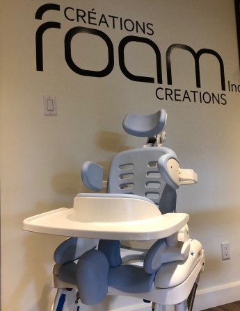 medical seats injection molded Foam Creations