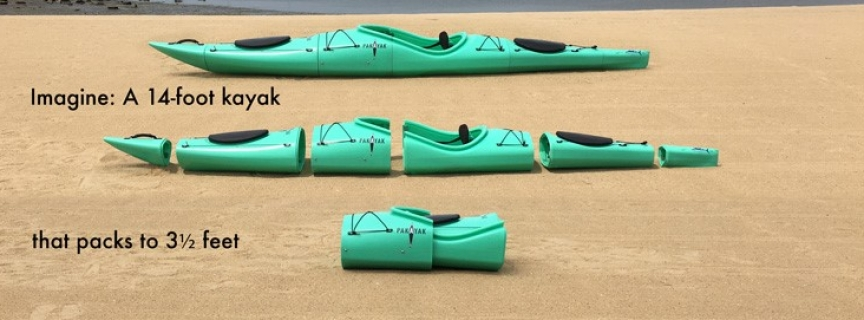 EVA Foam Injection molded in XL EXTRALIGHT for Pakayak
