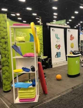 Foam Injection molding products by Foam Creations- Las Vegas 2019